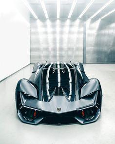 "353.8k Likes, 2,567 Comments - Lamborghini (@lamborghini) on Instagram: ""The future starts today. We unveiled #Lamborghini Terzo Millennio at #EmTech 2017. Our concept for…"""