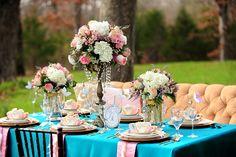 tea party tablescape ideas | Feature: Alice Meets Antoinette Tablescape | The Sunshine Party Studio