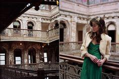 Industrial Emerald Wedding Inspiration