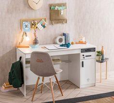 Modern Interior, Office Desk, Corner Desk, Furniture, Home Decor, Products, Electrical Outlets, Writing, Set Of Drawers