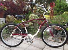 schwinn fleet Beach Cruiser Bikes, Beach Cruisers, Vans Custom, Bicycle, Vehicles, Bike, Bicycle Kick, Bicycles, Car