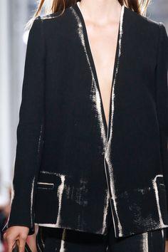 // Proenza Schouler Spring 2014 Street Style: Milan Fashion Week Spring 2014 // Saint Laurent Spring 2014 Ready-to-Wear Collection Slideshow. Moda Fashion, Fashion Models, High Fashion, Fashion Show, Womens Fashion, Runway Fashion, Shorts Jeans, Fashion Details, Fashion Design