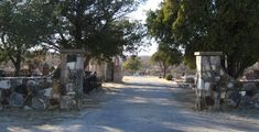 Entrance to Old Gooch Cemetery in Mason, Texas  I have relatives here, my granny and  some of my grandma's siblings.