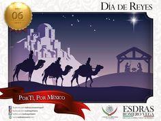 Los tres reyes magos, guiados por una brillante estrella, montados en un camello, un caballo y un elefante, emprendieron el viaje para adorar al Niño Jesús al cual obsequiaron oro por ser rey, mirra por ser hombre e incienso por ser Dios. #Madero #Altamira #Aldama ¡Buen día!