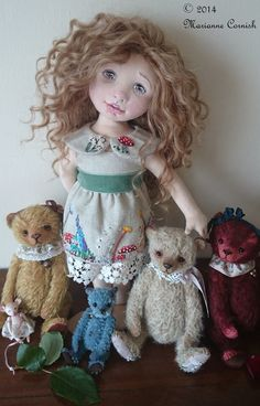 Soft Sculpture Doll by Marianne Cornish