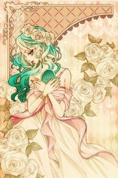 セーラーネプチューン / 海王みちる Sailor Neptune / Michiru Kaioh by sizh - Sailor Moon fan art Sailor Neptune, Sailor Saturn, Arte Sailor Moon, Sailor Moon Fan Art, Sailor Mars, Sailor Moon Crystal, Sailor Scouts, Manga Comics, Manga Anime
