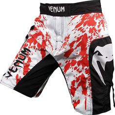 Everyone needs a pair of MMA shorts with some blood on them.