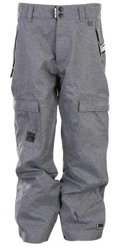 Ride Belltown Snowboard Pants Grey Tweed - Mens
