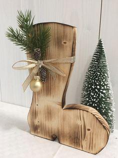 Nikolausstiefel - Weihnachten - Nikolausstiefel - geflammt - ein Designerstück von Hexerei bei DaWanda                                                                                                                                                                                 Mehr