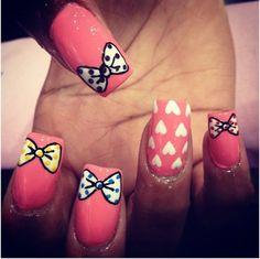 .finger nail art