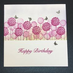 Card-io Stamps used: Dragonfly Garden Sentiment by Sue Wilson.