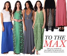 Spring 2012 Maxi Dresses and Skirts | Fashion. Beauty. Trends. Frontrowmag.comFashion. Beauty. Trends. Frontrowmag.com