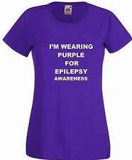 Epilepsy Awareness World Purple Day T Shirt