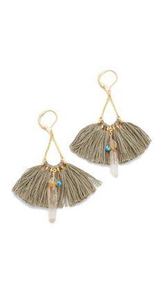 Shashi Celeste Tassel Earrings