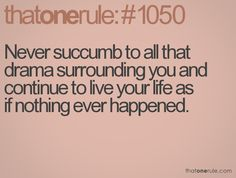 Love this! Rid yourself of all negativity and drama <3 #Quotes #Life