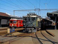 """Rhätische Bahn (RhB), Ge 4/4 I 606 """"Kesch"""""""