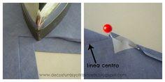 escote-uniformes-hostelería Sewing Basics, Sewing Hacks, Sewing Tutorials, Sewing Projects, Tutorial Sewing, Kurti Patterns, Dress Sewing Patterns, Clothing Patterns, Sewing Clothes