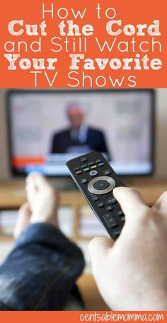 How to Cut the Cord and Still Watch Your Favorite TV Shows Ways To Save Money, Money Tips, Money Saving Tips, How To Make Money, Frugal Living Tips, Frugal Tips, Cable Tv Alternatives, Tv Hacks, Netflix Hacks