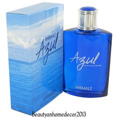 Animale Azul Cologne by Animale 3.4 oz Eau De Toilette Spray NEW IN BOX #Animale