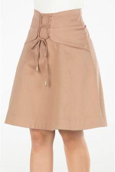 SAIA JEANS EVASÊ COM PALA  Saia jeans com pala diferenciada, na qual parte das ... - #Das #diferenciada #evasê #jeans #na #PALA #Parte #qual #SAIA Blouse And Skirt, Pleated Midi Skirt, Frock Fashion, Fashion Dresses, Cos Fashion, Skirt Outfits, Casual Outfits, Sequin Party Dress, Cute Skirts