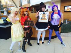 five nights at freddy foxy cosplay - Google Search.   Ideas for Isabelle's costume