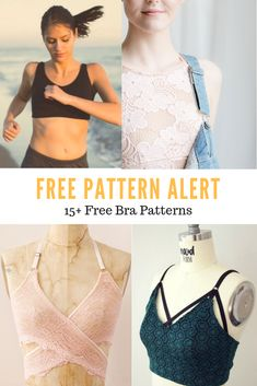 FREE PATTERN Free Bra Patterns Free Printable sewing patterns for women bra Hello there, Thank you for visiting On the Cutting Floor today. I am happy to present this compilation of Free Bra Sewing Patterns . Free Printable Sewing Patterns, Free Sewing, Easy Sewing Patterns, Sewing Paterns, Skirt Patterns, Floor Patterns, Pattern Sewing, Coat Patterns, Pattern Cutting
