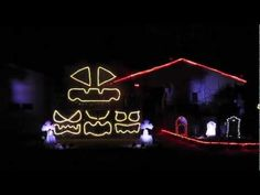 "2011 Halloween Light Show: ""Bohemian Rhapsody"" - YouTube"