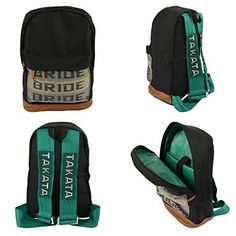 Bride JDM Takata Harness Straps Laptop Backpack I NEED THIS