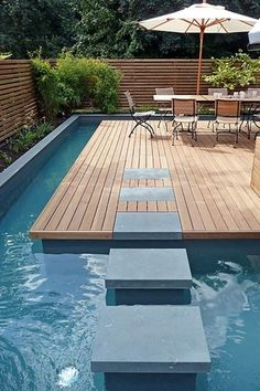#zwembad #swimming #pool #wood #hout #terras #terrace #achtertuin www.leemconcepts.nl