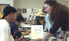 """The researchers found that the visual arts classes did have broad indirect benefits, even if they were not directly related to quantifiable performance in other subjects. """"Students who study the arts seriously are taught to see better, to envision, to persist, to be playful and learn from mistakes, to make critical judgments and justify such judgments,"""" the authors conclude."""