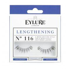 Wunderschöne, lange Wimpern!   Eylure Lengthening Wimpern Nr. 116  Wimpern für den täglichen Gebrauch.