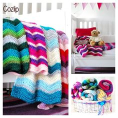 Mantas a crochet - Crochet - Tejidos de Punto - 491576
