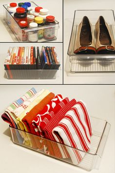 We love these fresh ideas for our Fridge Binz! They're perfect storage solutions. | Solutions.com #Storage #Organization