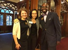 The recruiting team always enjoys running into alumni/ae!  Pictured is Ann-Henley Saunders '14, Sera Chung '14, and Brian McCollum '10 at the inaugural Women of Color in Ministry conference, Covenant Avenue Baptist Church, Harlem, NY in mid-October. Chung serves as the associate for gender and racial justice at the Presbyterian Mission Agency.