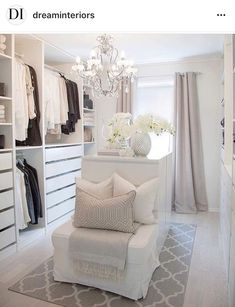 Selection of the Most Stylish Walk in Closets, Masculine Closets & Women´s Dressing Rooms Projects! Dazzling Interior Design Projects from Lighting Genius DelightFULL | http://www.delightfull.eu/usa/. Chandeliers, pendant lights, suspension lamps, wall lights, floor lamps, table lamps. Luxury dressing rooms projects, designer lighting, home decor ideas for your stylish interior.