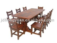 Large Cabin Dinning Room Table