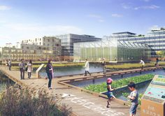 Sasaki designs hydroponic vertical farm for Shanghai