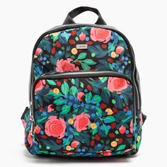 mochila4 Flora, Lunch Box, Backpacks, Cool Stuff, Bags, Accessories, Handbags, Plants, Bento Box