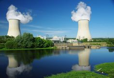 Smoke on the Water: Civaux nuclear plant.