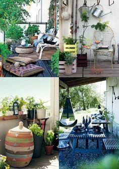 673 Best Terrasse Und Balkon Images Small Balconies Deck Gardens