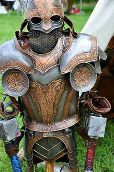 Celtic Knotwork armor