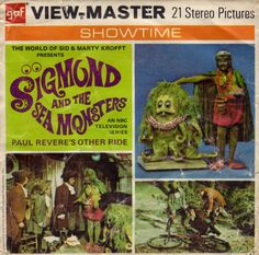 Sigmund and the Sea Monsters View-Master