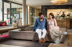 Alpiner Lifestyle im Bergland Hotel Sölden Dekoration