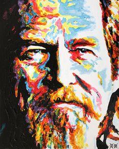 Cluster of the Week: 'Jeff Bridges' by John Bramblitt