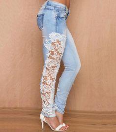 Ideias de calça jeans customizada                                                                                                                                                      Mais