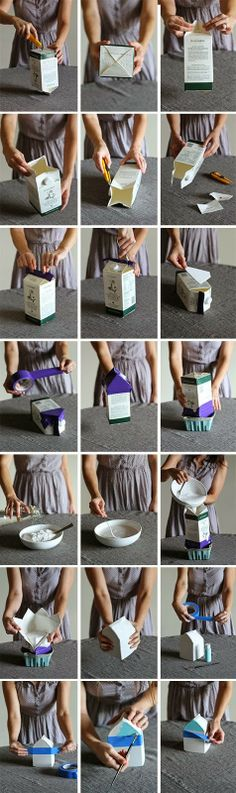 DIY // plaster house bookend from scratch