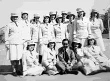 WWII: The Puerto Rican WAC unit, Company 6, 2nd Battalion, 21st Regiment of the Women's Army Auxiliary Corps, a segregated Hispanic unit, was assigned to the Port of Embarkation of New York City, after their basic training at Fort Oglethorpe, Georgia. They were assigned to work in military offices which planned the shipment of troops around the world.