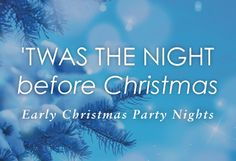 Black Friday Christmas Party Night 27th November  We are rolling back to 2011 prices  Including 3 course meal, Coffee and dancing until 1am  Friday 27th November  £19.99 pp