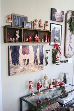 Update your gallery wall for Christmas with Finding Home Farms