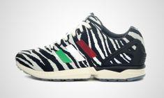 italia independent x adidas zx flux animal